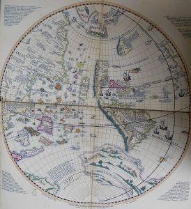 548px-Schöner_globe_1520_western_hemisphere